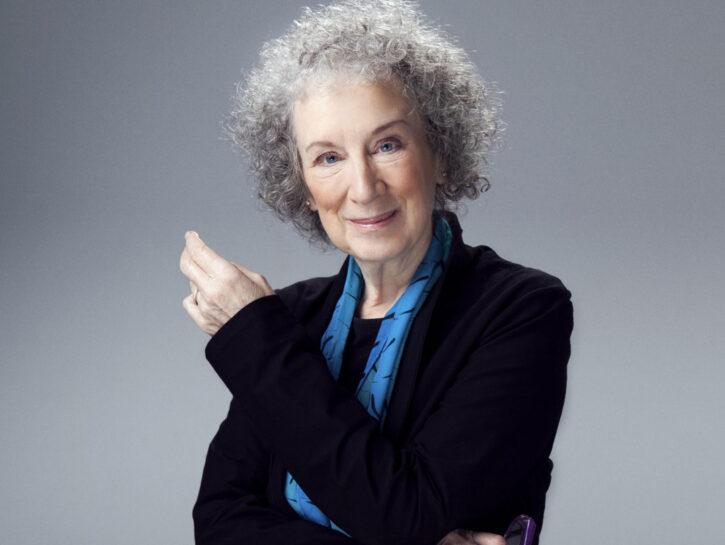 La scrittriceMargaret Atwood