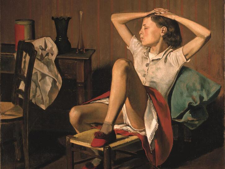 """Thérèse Dreaming"", Balthus, The Metropolitan Museum of Art, New York (1938)"