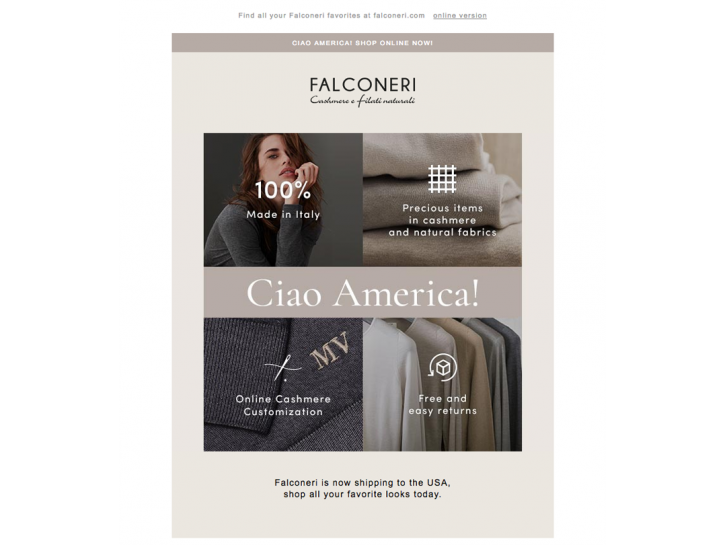 E-commerce Falconeri