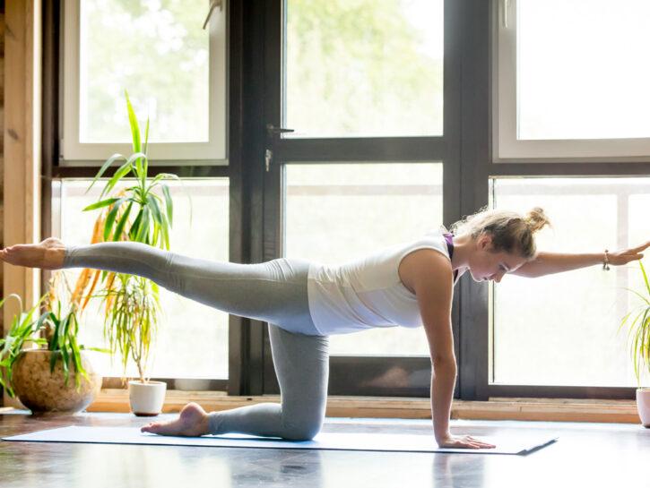 Esercizi fitness girovita fianchi