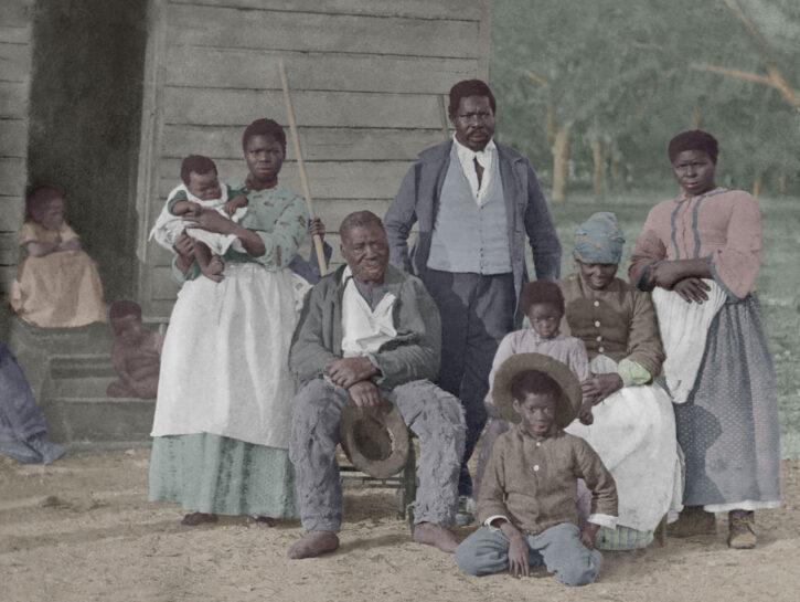 Schiavi negli Usa nel 1800. Molti, tra quelli mandati in Liberia, morirono per malattie tropicali