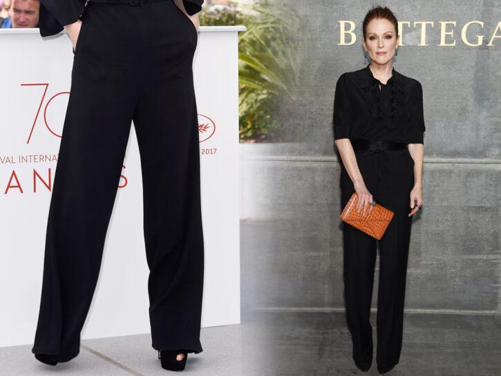 Pantaloni palazzo a 50 anni: dalle star tanti spunti per indossarli con stile e personalità!
