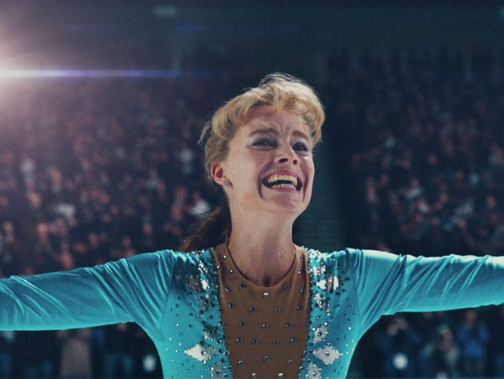 """Margot Robbie nel film""""Tonya"""", al cinema dal 29 marzo. Il film di Craig Gillespie racconta la vita"""