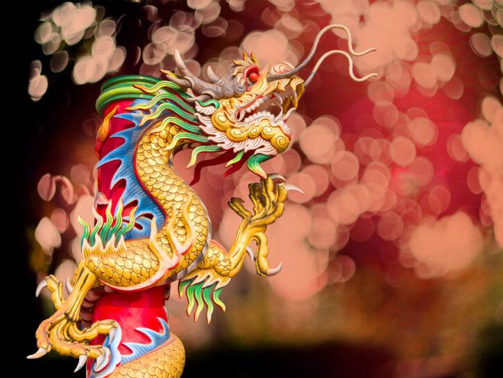 Oroscopo cinese segni zodiacali drago
