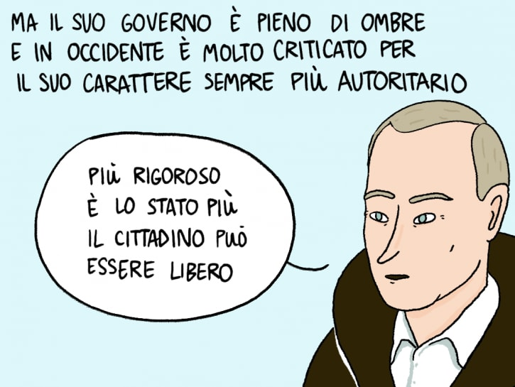 Putin a fumetti - Claudia Flandoli