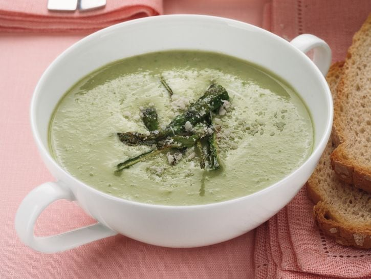 Crema di asparagi light al tabasco