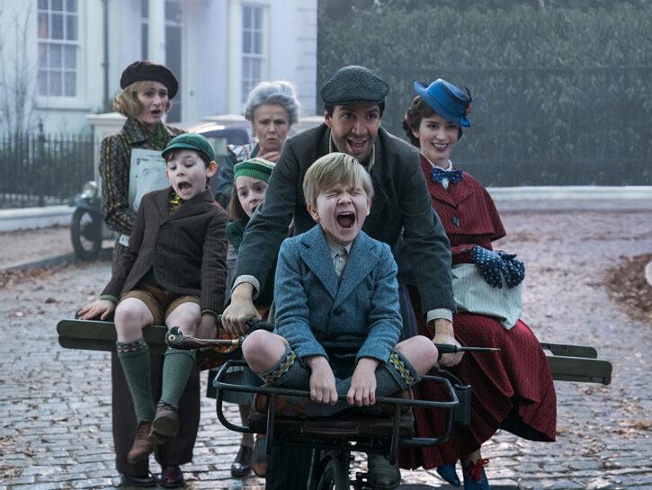 """Arriverà nelle sale a Natale """"Mary Poppins returns"""", diretto da Rob Marshall, con Emily Blunt nei"""