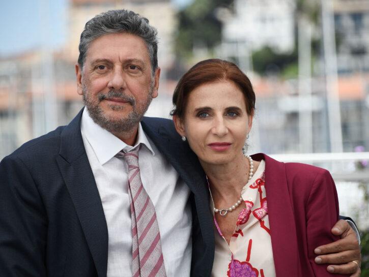 Sergio Castellitto e Margaret Mazzantini al Festival di Cannes 2017