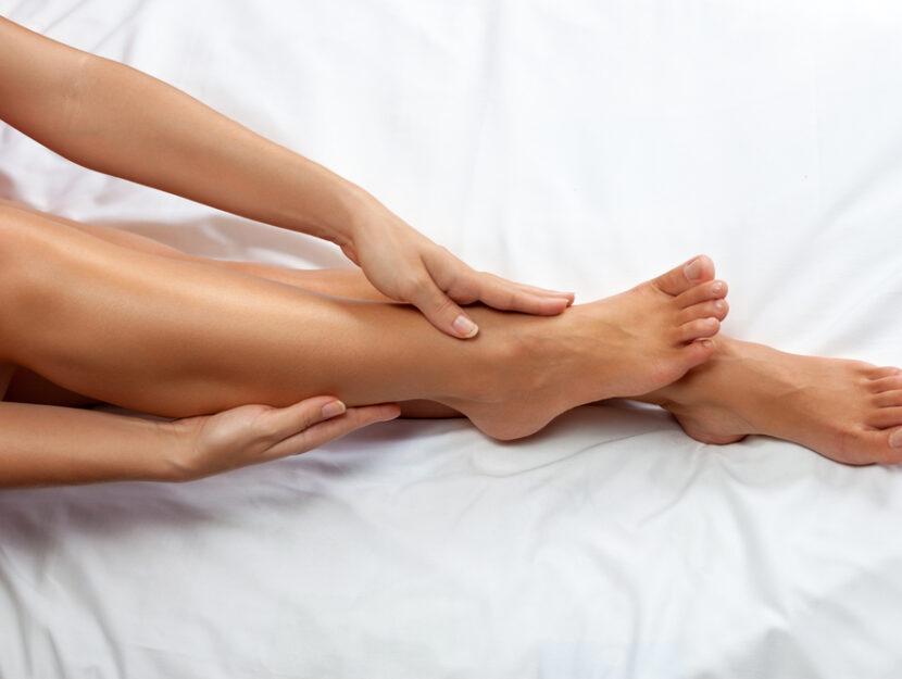 caviglie gonfie