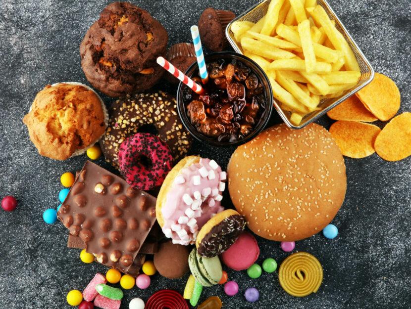 cibi calorici e grassi