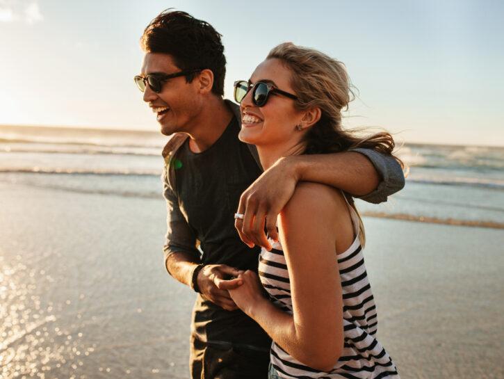 coppia felice affinità