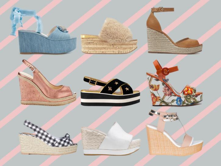 Sandali con zeppa per la primavera estate 2018: tutti i modelli di tendenza  - Donna Moderna