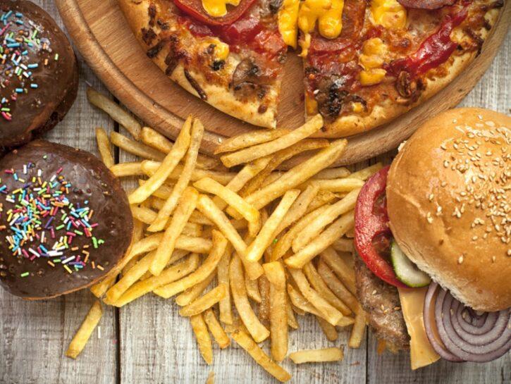 cibi più grassi e calorici