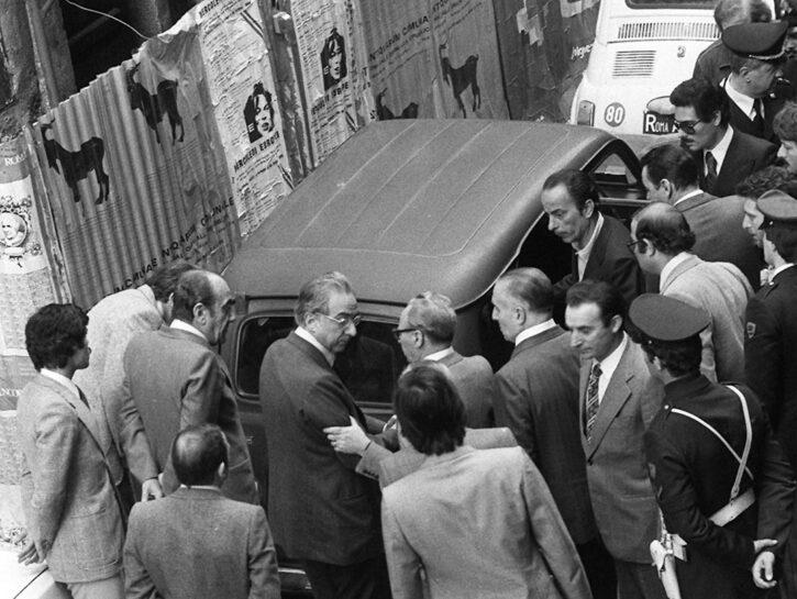 Aldo Moro via Caetani 1978