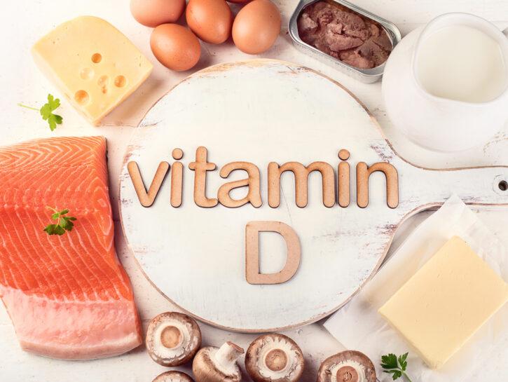 Vitamina D pastello alimenti