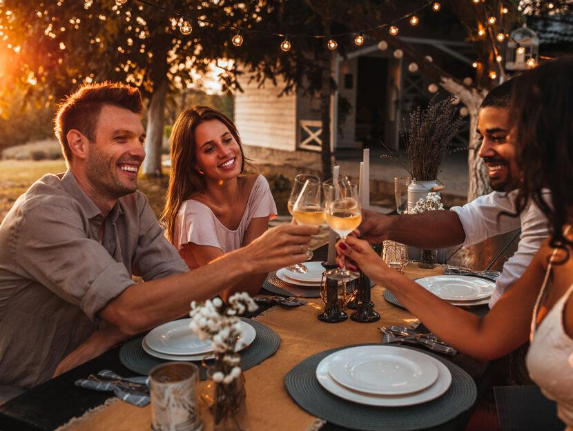 benefici bicchiere di vino