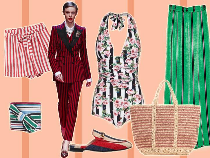 Fantasia a righe: capi e accessori per la primavera estate 2018