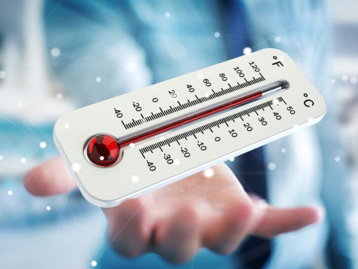 Meteo temperatura termometro