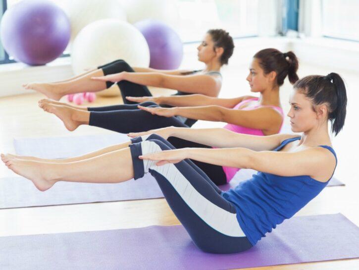 Pilates: esercizi per gli addominali