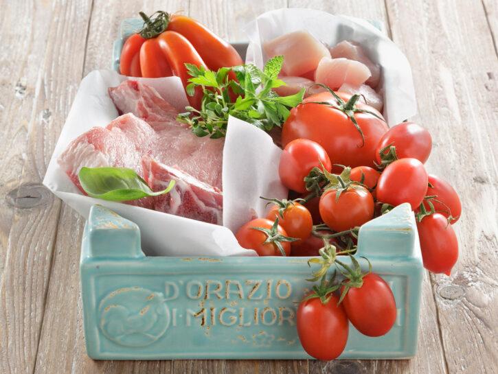 Cucinare i pomodori con la carne