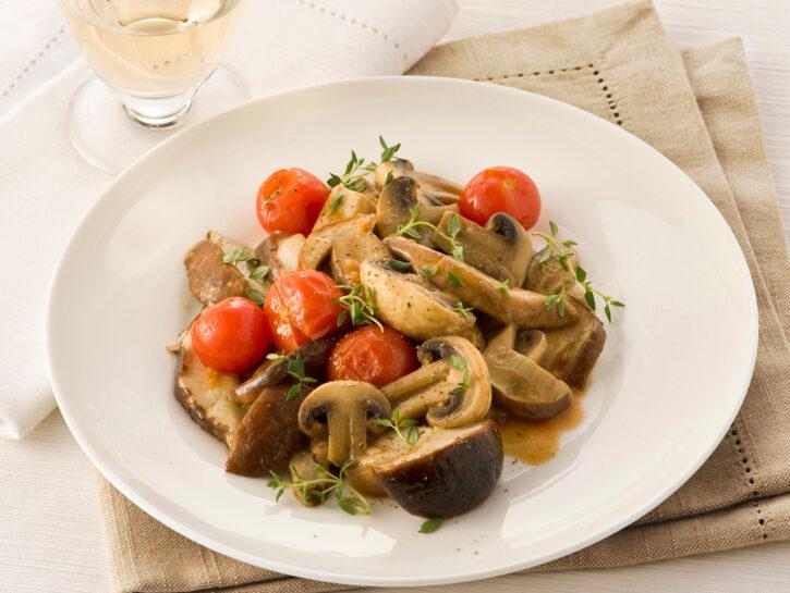Padellata di porcini e champignon