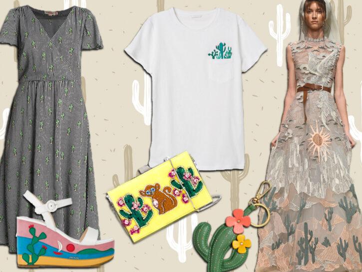 """Cactus mania: i capi e gli accessori più """"pungenti"""" dell'estate 2018!"""