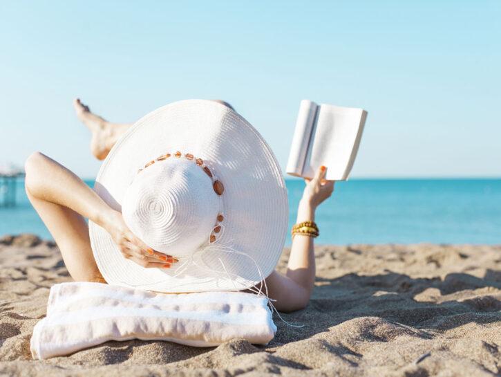 Lettura in spiaggia