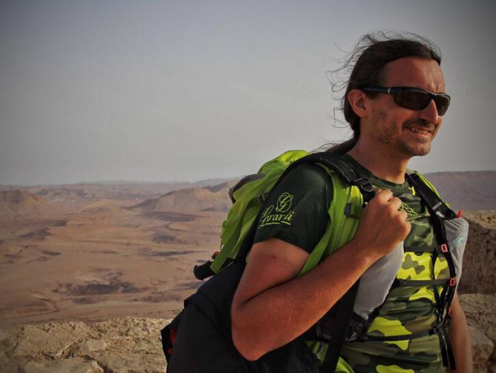 Federico Bertone, istruttore di trail running e fondatore diOltrepò Trail