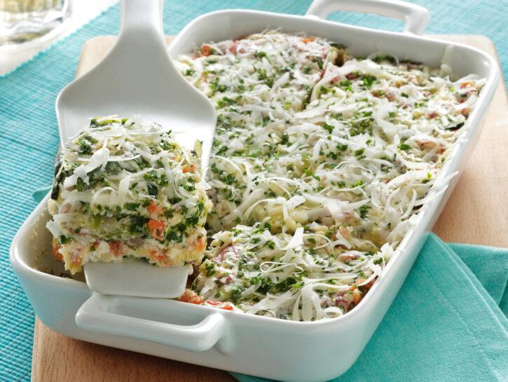 Lasagne di zucchine senza pasta