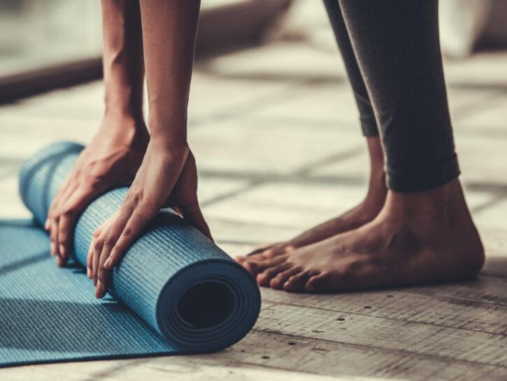 PILATES per principianti esercizi passo passo