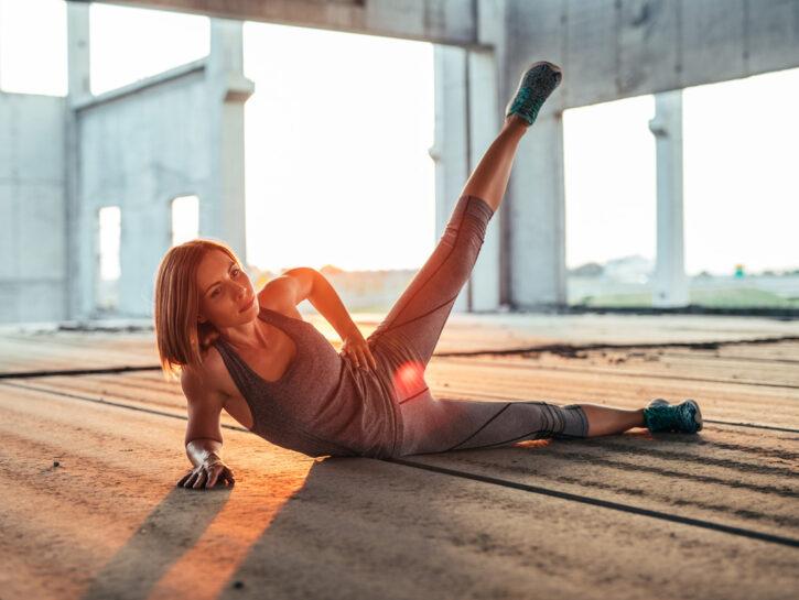 Pilates Esercizi Per Tonificare Gambe E Glutei