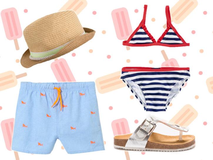 Moda Mare kids: capi e accessori must have per l'estate 2018