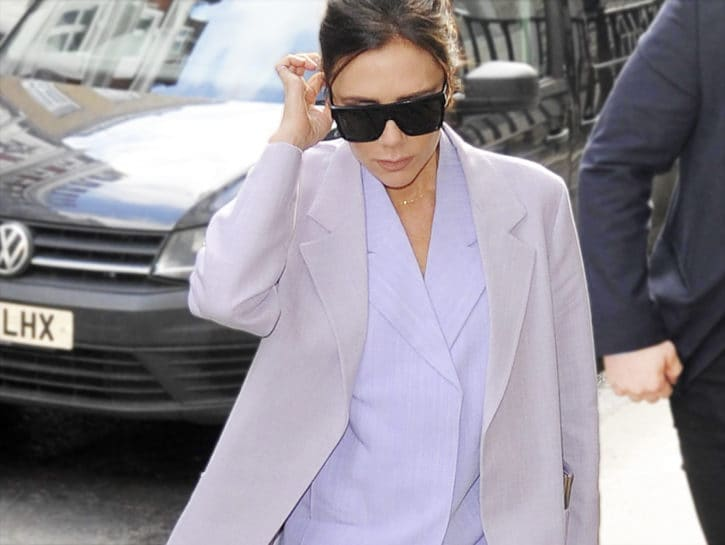 In tailleur come Victoria Beckham