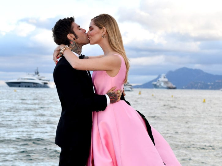 Chiara Ferragni Fedez Cannes Film Festival