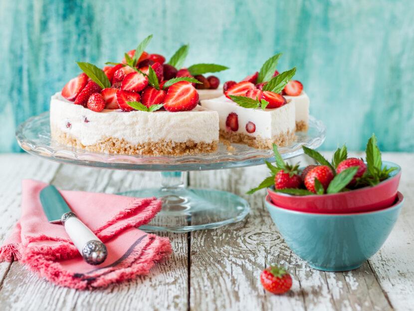 ricetta cheesecake di fragole