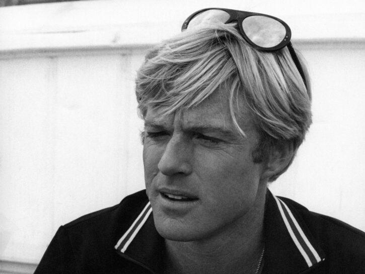 """Robert Redford in una scena del film """"Come eravamo"""", 1973"""