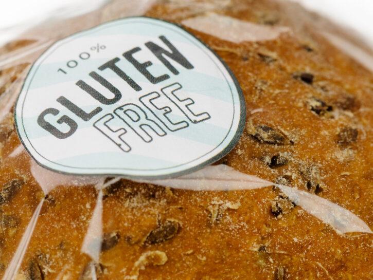 Pane 10 per cento gluten free celiachia