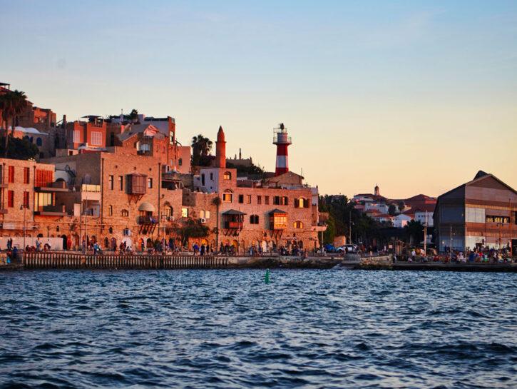 Il vecchio porto di Old Jaffa
