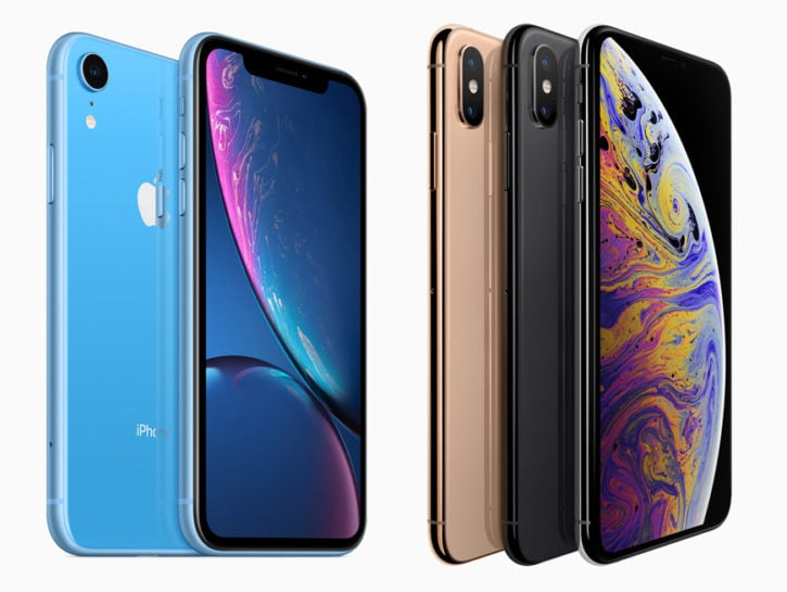 Apple iPhone XS e XR