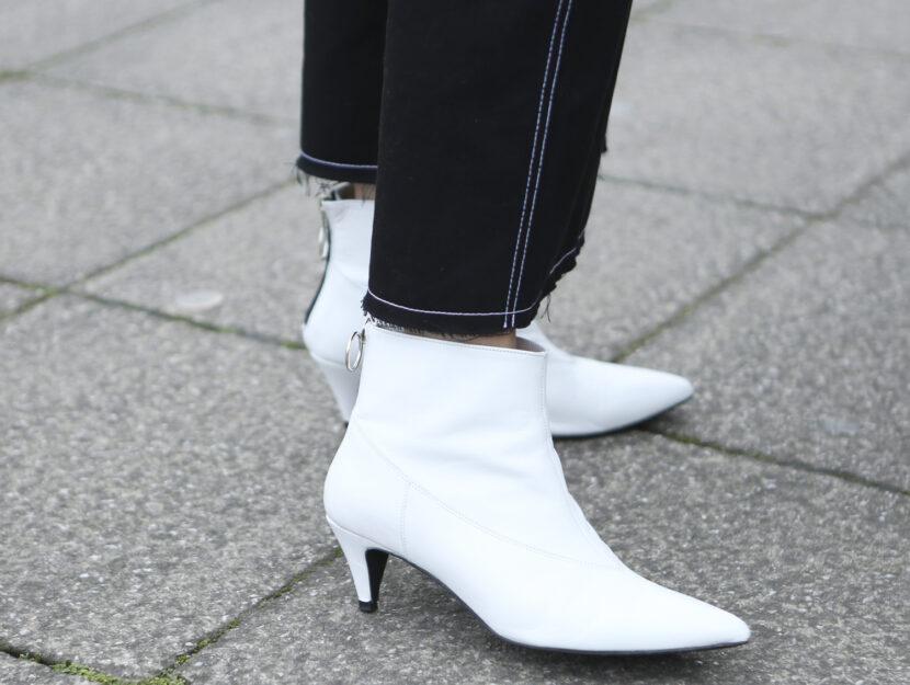 Scarpe bianche per l'autunno 2018