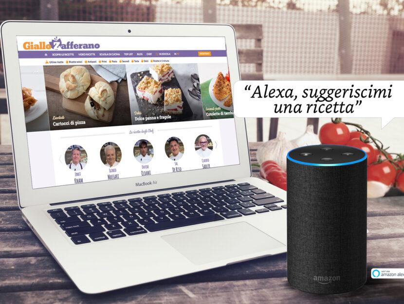 Giallo Zafferano - Amazon Alexa