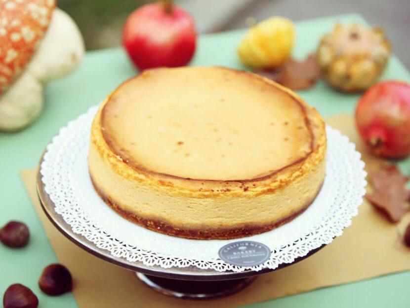 Pumpkin cheesecake alla zucca