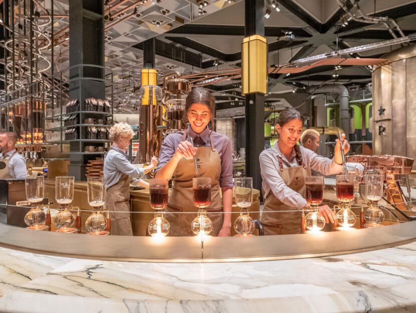 Il più grande store europeo di Starbucks è a Milano