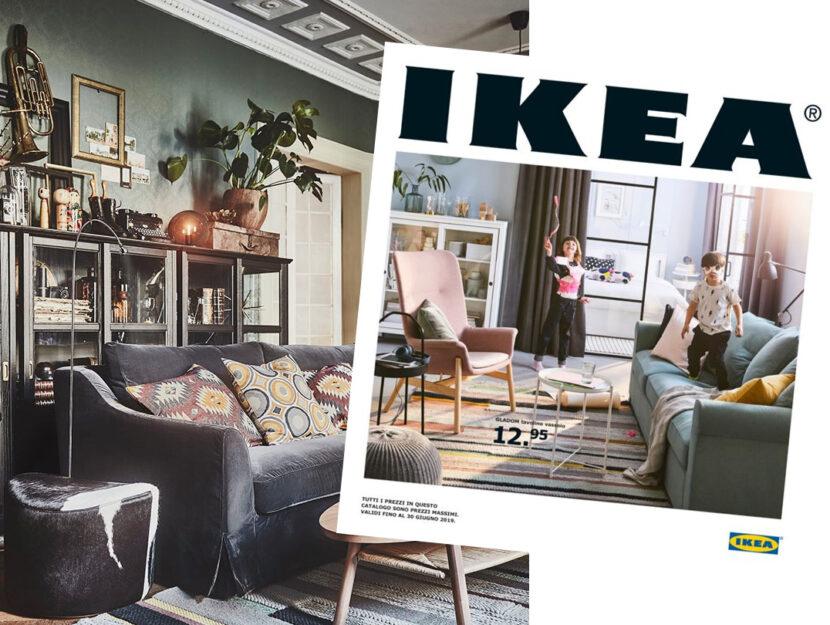 """La casa in versione """"eclettica"""", secondo il catalogo Ikea appena distribuito nelle case italian"""