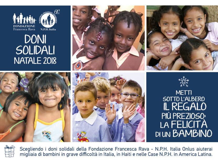 fondazione francesca rava regali solidali