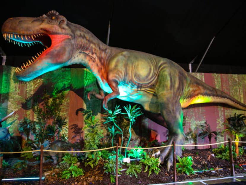 dinasaur invasion