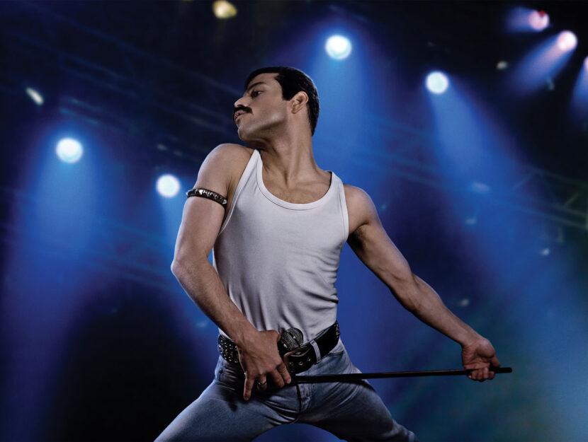 "Una scena di ""Bohemian Rhapsody"", al cinema dal 29 novembre. Rami Malek interpreta Freddie Mercury"