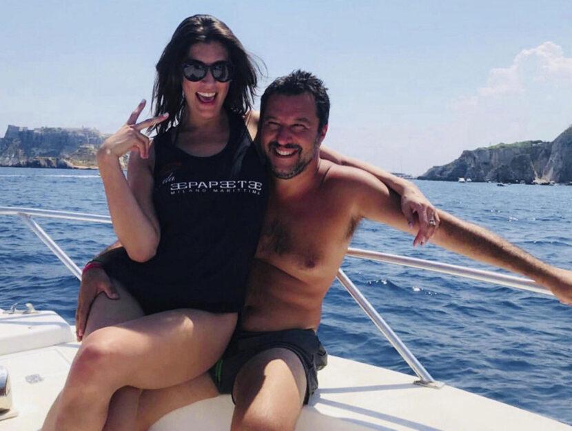 Una foto dal profilo Facebook di Matteo Salvini