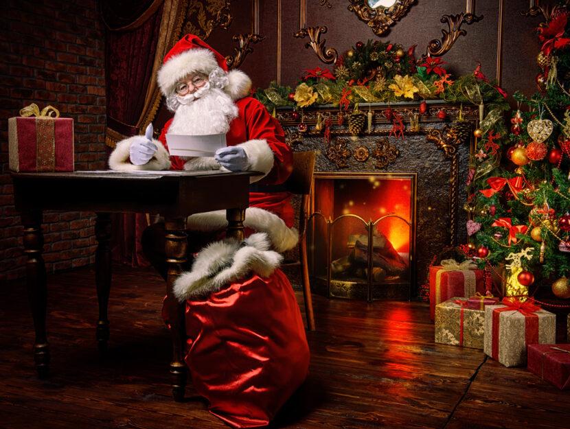 Babbo Natale scrive lettera