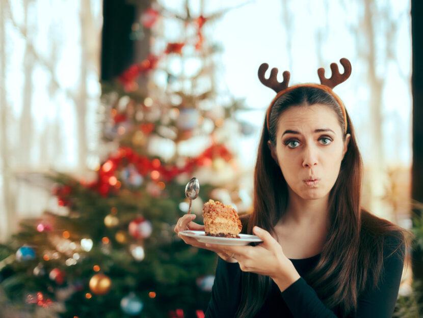Natale ragazza dolce